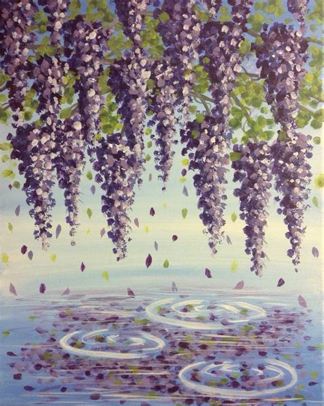 paint nite vacaville wisteria painting www pixshark images galleries