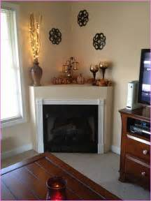 Corner fireplace mantel decorations home design ideas