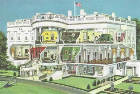 how many rooms in the white house the white house