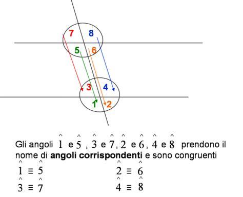 angoli alterni interni matematica scuola secondaria 1 176 grado angoli e rette