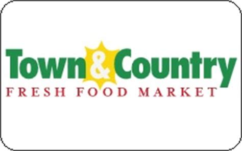 buy town country food market gift cards at a 13 discount giftcardplace - Town And Country Gift Card