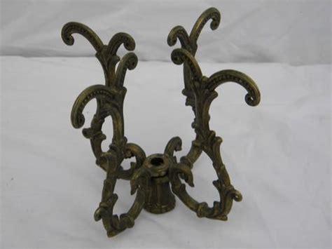 Vintage Chandelier Parts Lot Of Vintage Ornate Brass Chandelier Prism Arms Parts