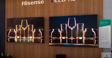 hisense shows  triple laser tv   thick led tv