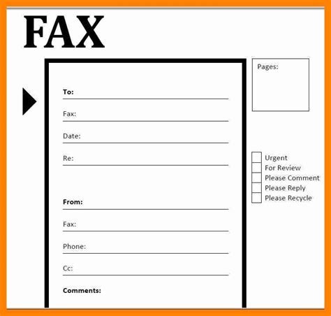 6 basic fax cover sheet pdf sales clerked