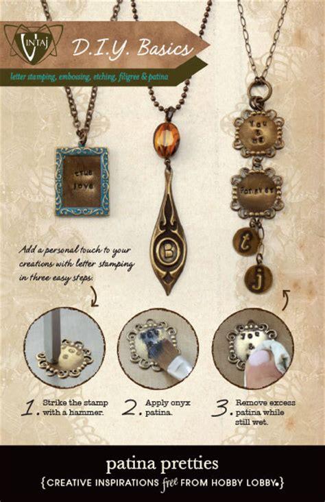 hobby lobby jewelry hobbylobby projects patina pretties