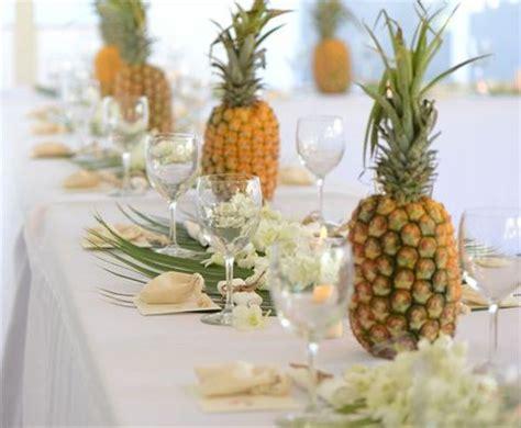pineapple centerpieces ideas 85 pineapple wedding ideas happywedd