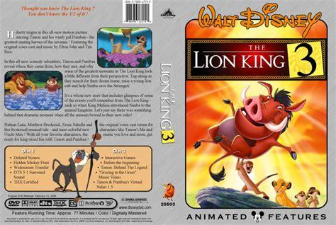 film lion king 3 lion king 3 dvd www imgkid com the image kid has it