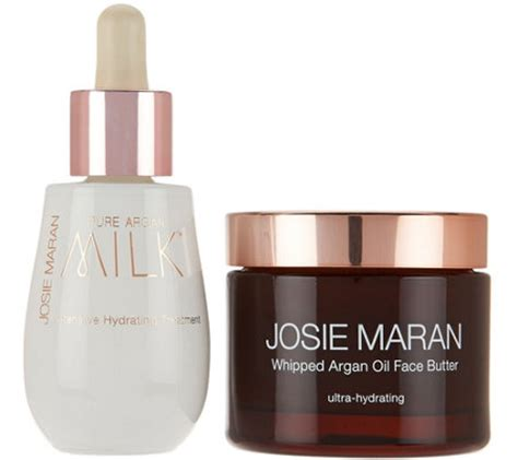 Josie Maran Argan Duo josie maran argan milk butter duo page 1 qvc