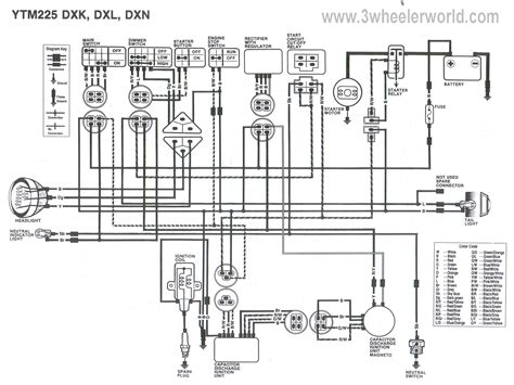 yamaha enduro wiring diagram wiring diagram 2018
