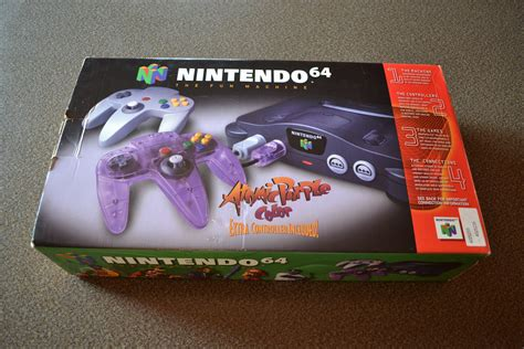 new n64 console brand new complete in box nintendo 64 unboxing n64
