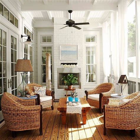 sunroom chairs comfortable picture perfect porch and sunroom ideas