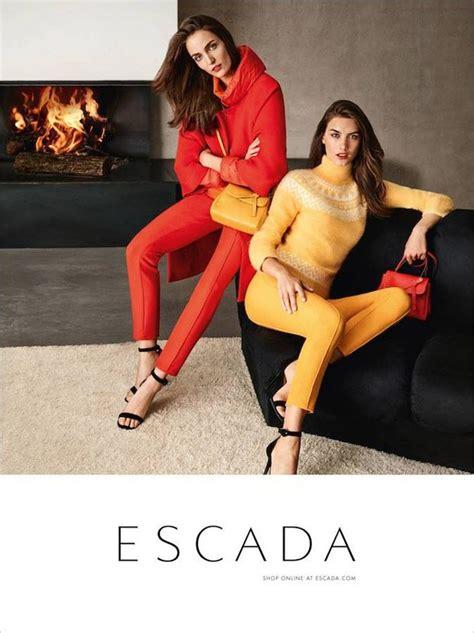 Fab Ad Escada Springsummer 08 by Ronja Furrer Zuzanna Bijoch Model Escada Fall Winter