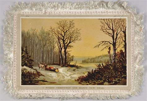 seasons  holiday cards   collection   canadian museum  history
