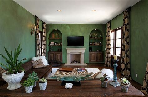 brown and green living room 25 green living rooms and ideas to match