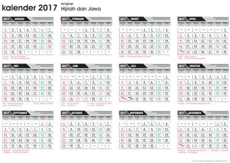 Kalender 2018 Beserta Kalender Jawa Template Kalender 2017 Lengkap Hijriah Dan Jawa