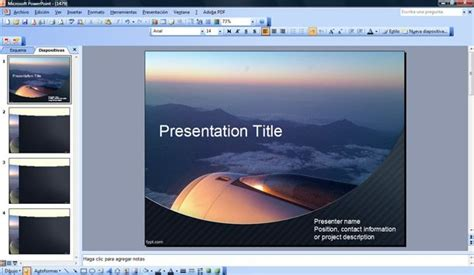 aviation powerpoint templates aircraft templates for powerpoint