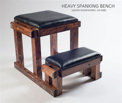 dungeon bench heavy spanking bench with padding lw hsb1