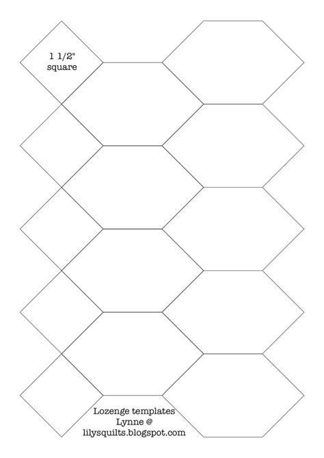 Templates For Patchwork - 1000 ideas about printable templates on