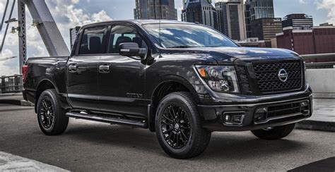 nissan titan midnight edition nissan rolls out three midnight edition trucks during