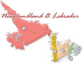 travel newfoundland travel labrador newfoundland maps