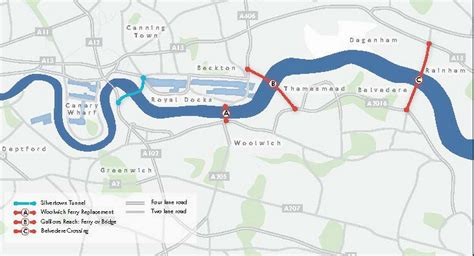 River Thames Outline by Plan To Start 163 750m Thames Silvertown Tunnel In 2017 Construction Enquirer