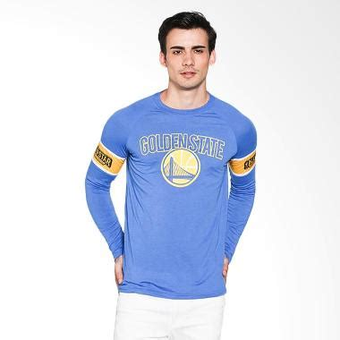 jual levelwear nba golden state warriors solid royal biru