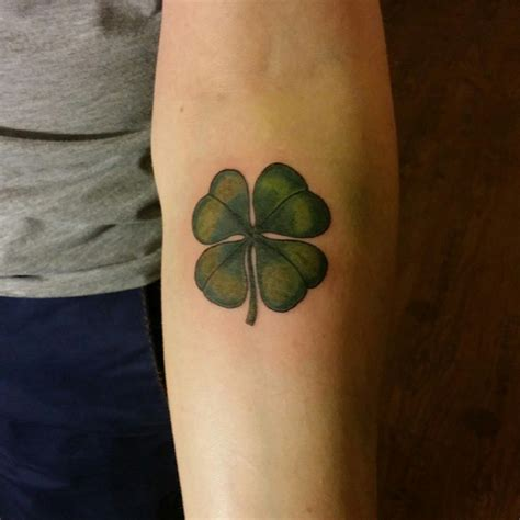 four leaf clover tattoo designs for men 70 best four leaf clover ideas and designs lucky