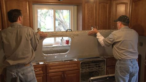 Install Countertop by How To Install Granite Countertops Pro Construction Guide