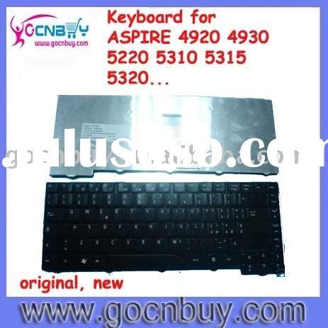 Keyboard Laptop Acer Aspire 4920 for hp nc6400 keyboard hp 6910p keyboard swedish for sale price hong kong manufacturer