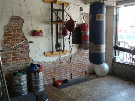 how to build an home garage boxing