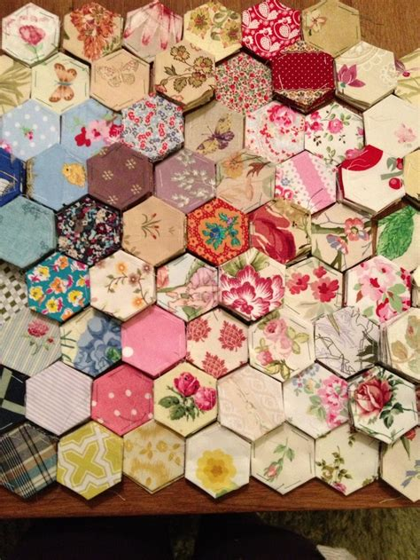 Hexagons Patchwork - 43 best images about hexagon quilting on