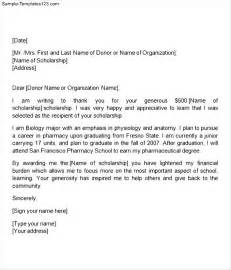 how to write a cover letter for scholarship how to write a thank you letter for high school