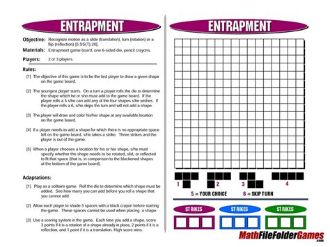 printable games elementary 42 printable math games for upper elementary and middles