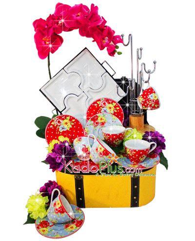Parcel Lebaran 5 parcel keramik lebaran tea set 5 toko bunga