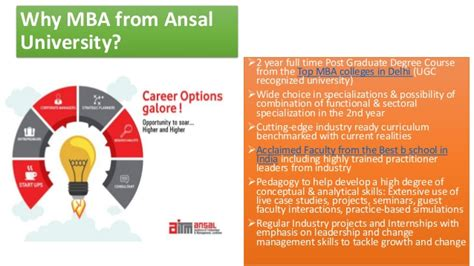 Ace Mba by Ace Your Resume With Custom Developed Ansal Mba
