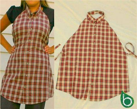 camicie da cucina ricicla la moda idee fashion per riutilizzare vecchi