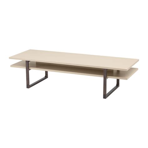 idea coffee table rissna coffee table beige 63x21 5 8 quot ikea