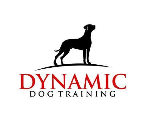 dogs symbol pin logo design on