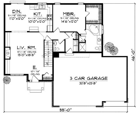 Traditional Plan 3 065 Square 4 Bedrooms 3 Traditional Style House Plan 4 Beds 3 50 Baths 1950 Sq