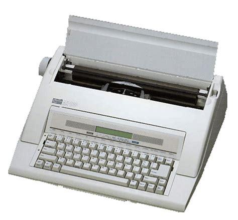 Mesin Tik Elektrik my typewriter bentuk mesin tik elektrik