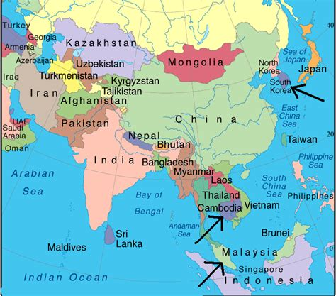 cambodia in the world map cambodia map in world map