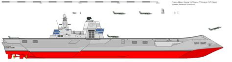 trimaran aircraft carrier sb george v phoenix t class trimaran carrier by