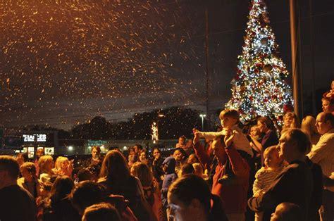 city tree lighting city tree lighting to start season hooversun com
