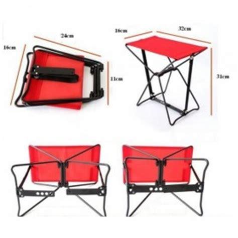 Kursi Lipat Memancing Folding Stool Chair Portable Pocket Chair Kursi Lipat Jakartanotebook