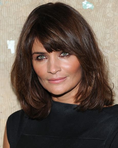 above shoulder length hair cuts with side bangs hairstyles with bangs for women over 50