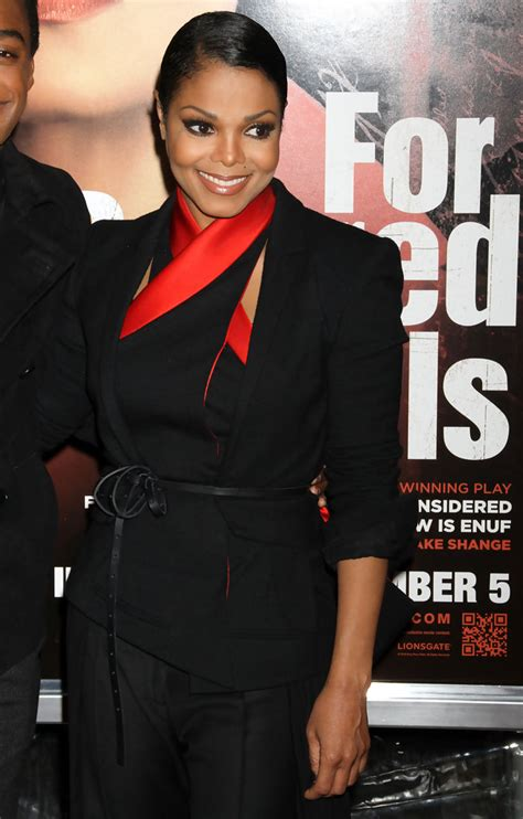 Janet Jackson For Colored Premiere janet jackson in janet jackson at the for colored