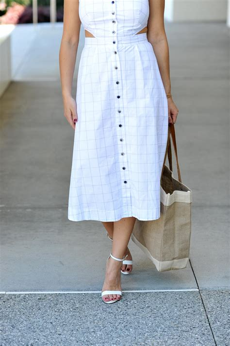 My Style Midi Dress white midi dress my style vita