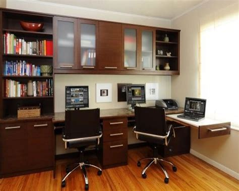 custom home office interior design decosee