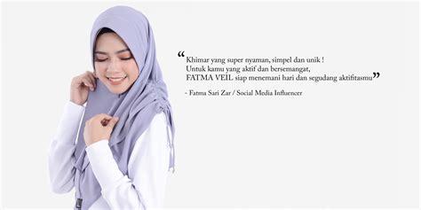 Tutorial Hijab Veil | fatma veil untuk ukhti yang aktif dan enerjik by azmeela