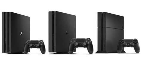 xbox one x vs ps4 pro caratteristiche a confronto playstation 4 slim e playstation 4 pro specifiche